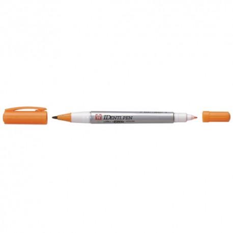 Sakura Identi pen akoholni dvojni marker Oranžna