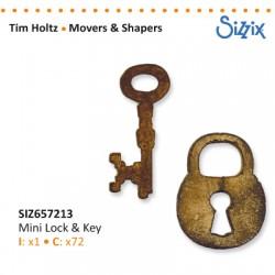 Sizzix nož Ključ in Ključavnica