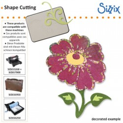 Sizzix nož Roža