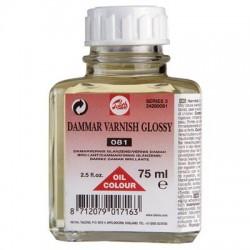 Zaščitni lak za olje Dammar 75ml, svetleč