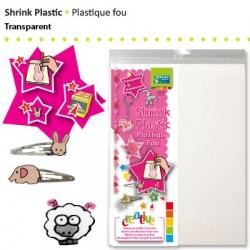 Shrink plastika 21 x 26cm, Prozorna 4 kosi