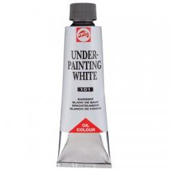 Talens bela barva za podslikavo 150ml