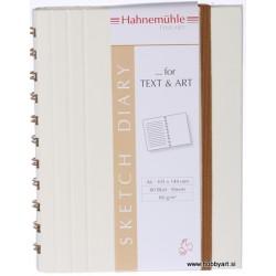 Skicirka Diary krem 80g, 80 listov