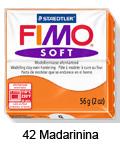 Fimo soft 57g. 42 Mandarinina (art. 8020-42)