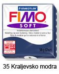 Fimo soft 57g. 35 Kraljevsko modra (art. 8020-35)