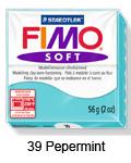 Fimo soft 57g. 39 Pepermint (art. 8020-39)