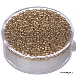 Miyuki perle 1,5mm, Zlata 6g.