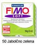 Fimo soft 57g. 50 Jabolčno zelena (art. 8020-50)