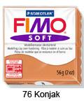 Fimo soft 57g. 76 Konjak (art. 8020-76)