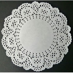 Okvirji iz papirja Okrogli 12,5cm, 12 kosov