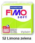 Fimo soft 57g. 52 Limonino zelena (art. 8020-52)