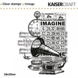 Kaiser kraft štampiljka 10 x 16cm, Gramofon