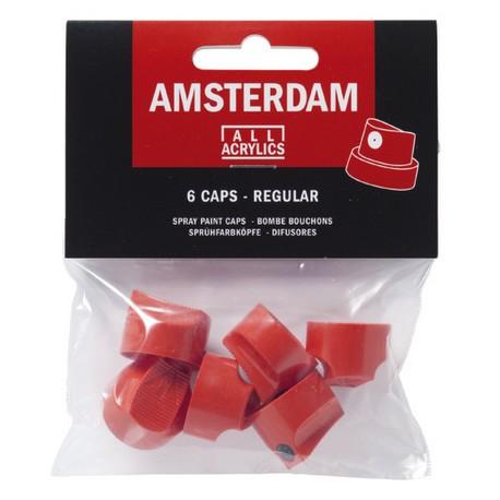 kape za Amsterdam akrilni sprej 2cm, 6 kosov