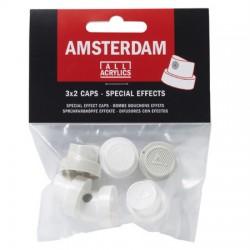 kape za Amsterdam akrilni sprej 2x1.5, 2x3.5, 2x6cm