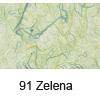 Svilen papir z vlakni 47 x 64cm, 25g. 91 Zelena (art. 956-91)