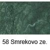 Svilen papir z vlakni 47 x 64cm, 25g. 58 Jelka zelena (art. 956-58)