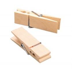 Lesene ščipalke velike 70 x 20 x 13mm, 4 kosi