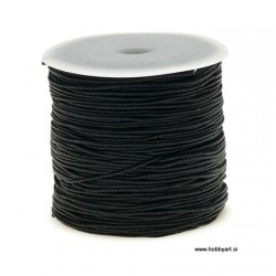 Najlon vrvica Črna 1mm, cca 95m