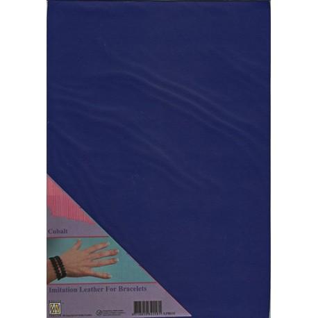 Umetno usnje A4, Cobalt modra