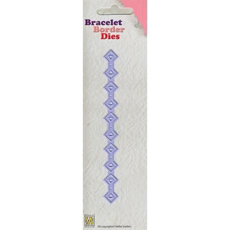 Nellies nož bordura za zapestnico 003 Diamant