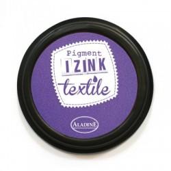 Izink blazinica za tekstil 70mm, Vijolična