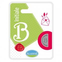 Kovinski polovični obojestranski Pečat črka B