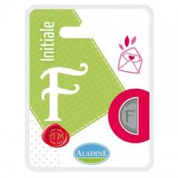 Kovinski polovični obojestranski Pečat črka F