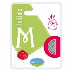 Kovinski polovični obojestranski Pečat črka M