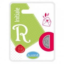 Kovinski polovični obojestranski Pečat črka R
