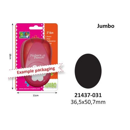 Luknjač Jumbo Oval 50mm