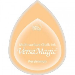Versa Magic blazinica solza 24 x 38mm, Persimmon