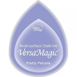 Versa Magic blazinica solza 24 x 38mm, Preatty Petunia