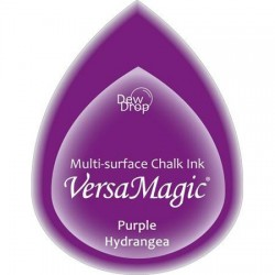 Versa Magic blazinica solza 24 x 38mm, Purple Hydrangea