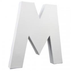 Črka iz kartona - Papmacheja M 20,5cm