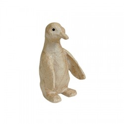 Papmache figura ES Pingvin 6,5x11,5x7cm