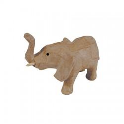 Papmache figura ES Slon 5x11x8cm