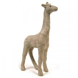 Papmache figura ES Žirafa 3x9x15cm