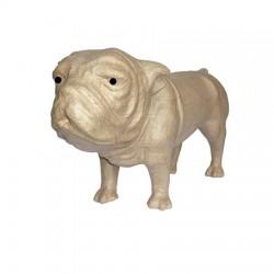 Papmache figura S Buldog 22x9x11cm