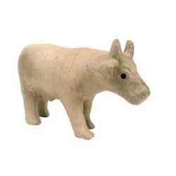Papmache figura S Krava 8x21x14cm