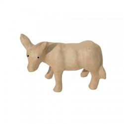 Papmache figura S Figura 22x8,5x15,5cm Osel