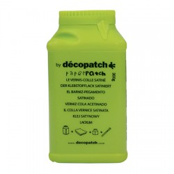Decopatch Lak in lepilo 300g, Svetleč