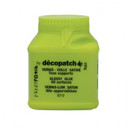 Decopatch Lak in lepilo 180g, Svetleč