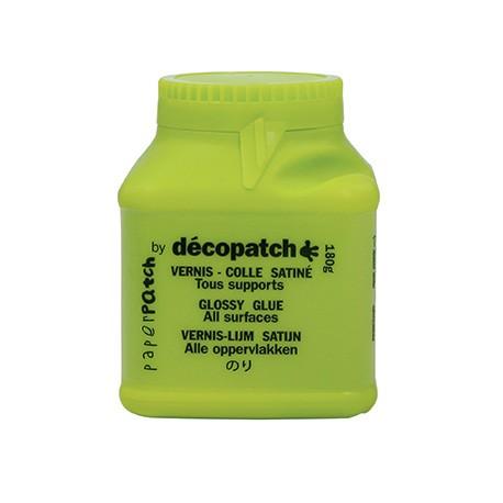 Decopatch Lak in lepilo 180g, Svetleč