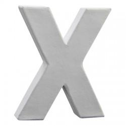 Črka iz kartona - Papmacheja X 20,5cm