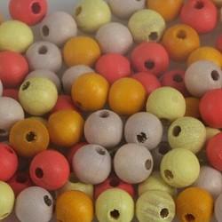 rumene/oranžne 6mm (100)