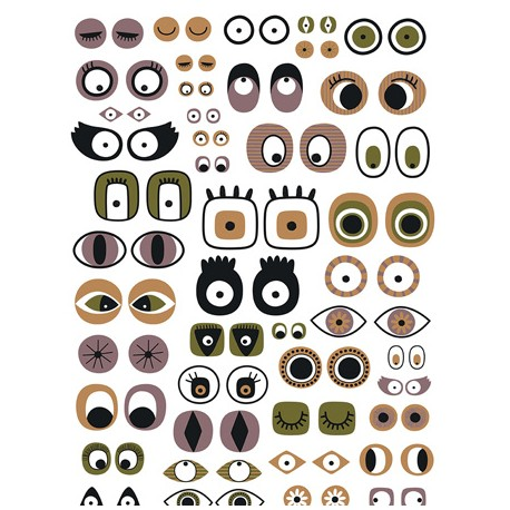 Decopatch papir 30 x 40cm 668 Oči