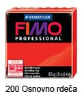 Fimo professional 85g. 200 Osnovno rdeča (art. 8004-200)