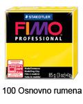 Fimo professional 85g. 100 Osnovno rumena (art. 8004-100)
