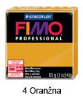Fimo professional 85g. 4 Oranžna (art. 8004-4)