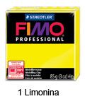 Fimo professional 85g. 1 Limonina (art. 8004-1)